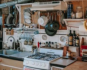 unordnung küche chaos